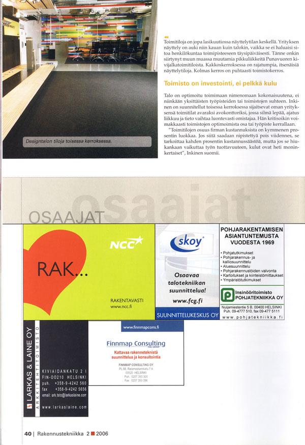 Rakennustekniikka 2006 3